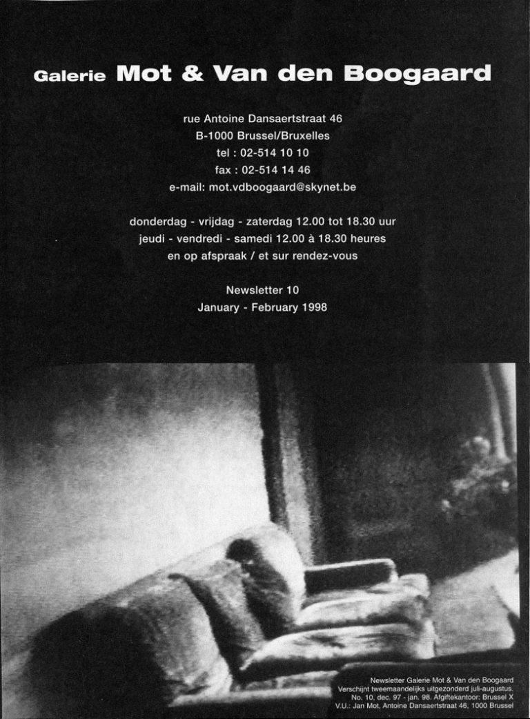 <p>No. 10, January 1998</p>