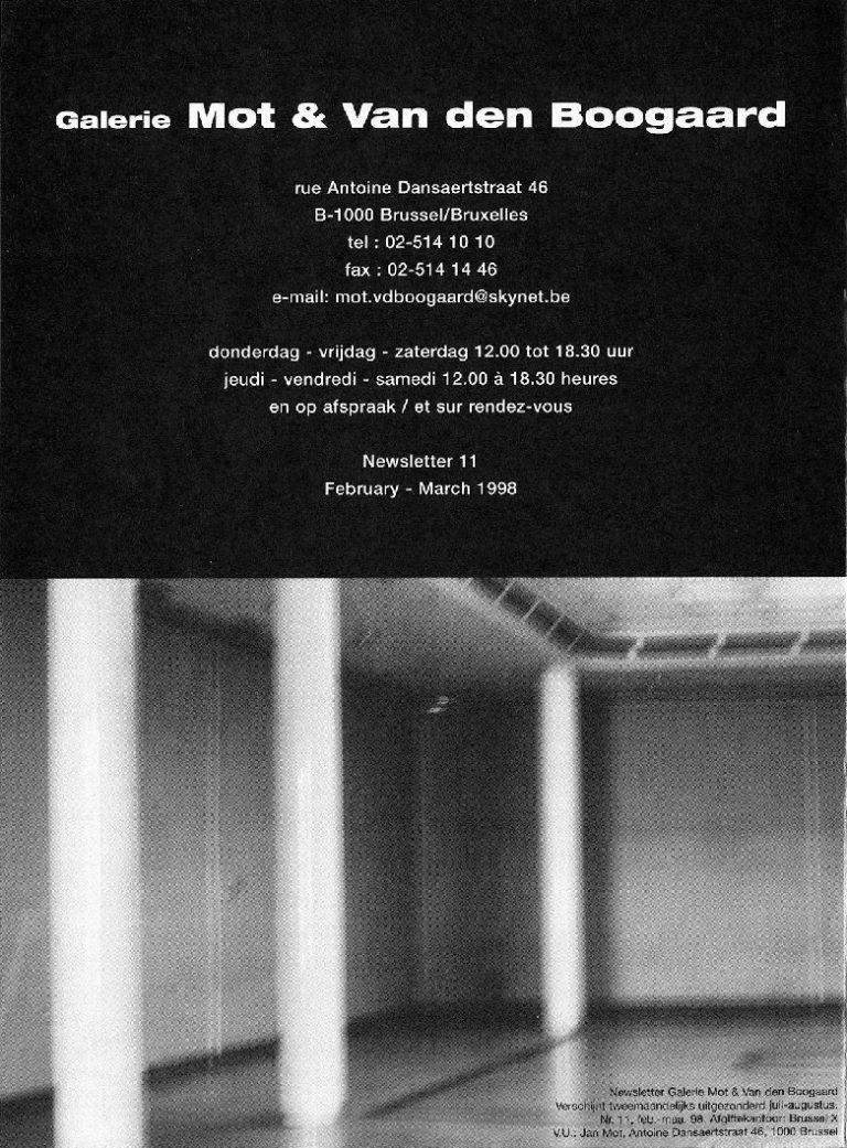 <p>No. 11, February 1998</p>