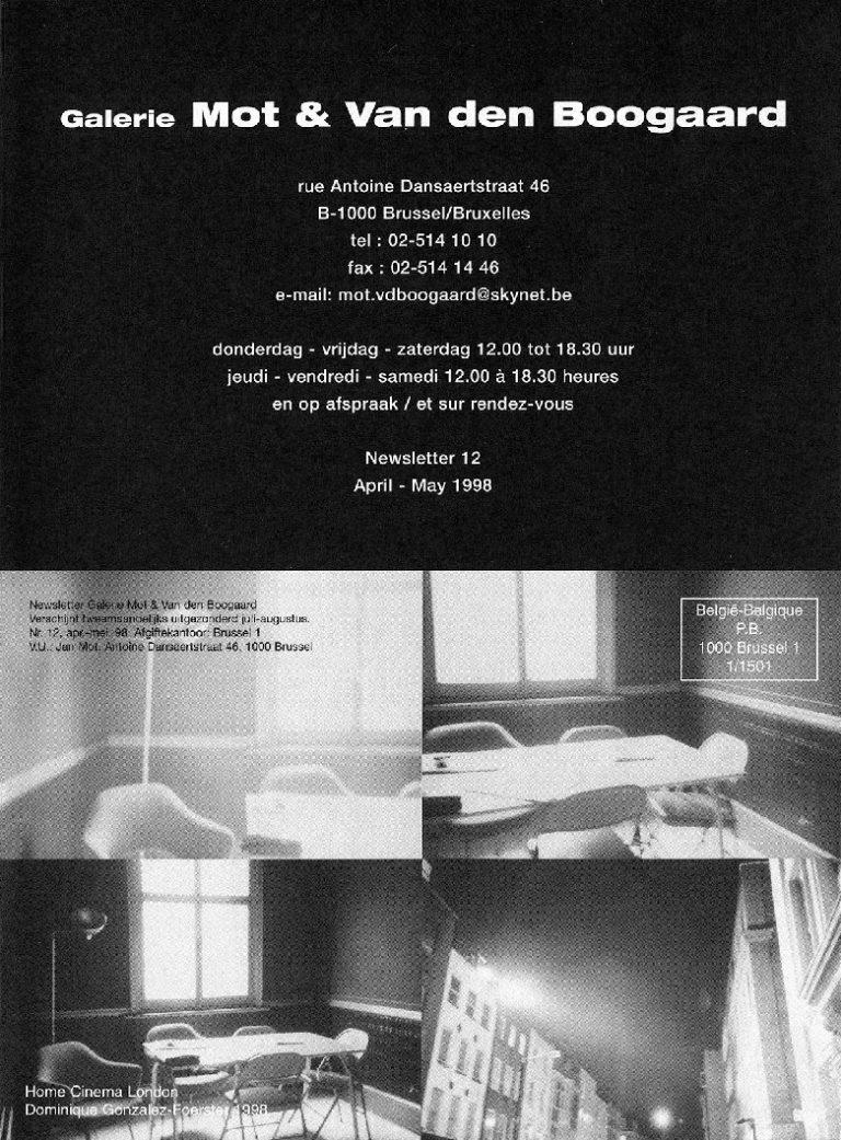 <p>No. 12, April 1998</p>
