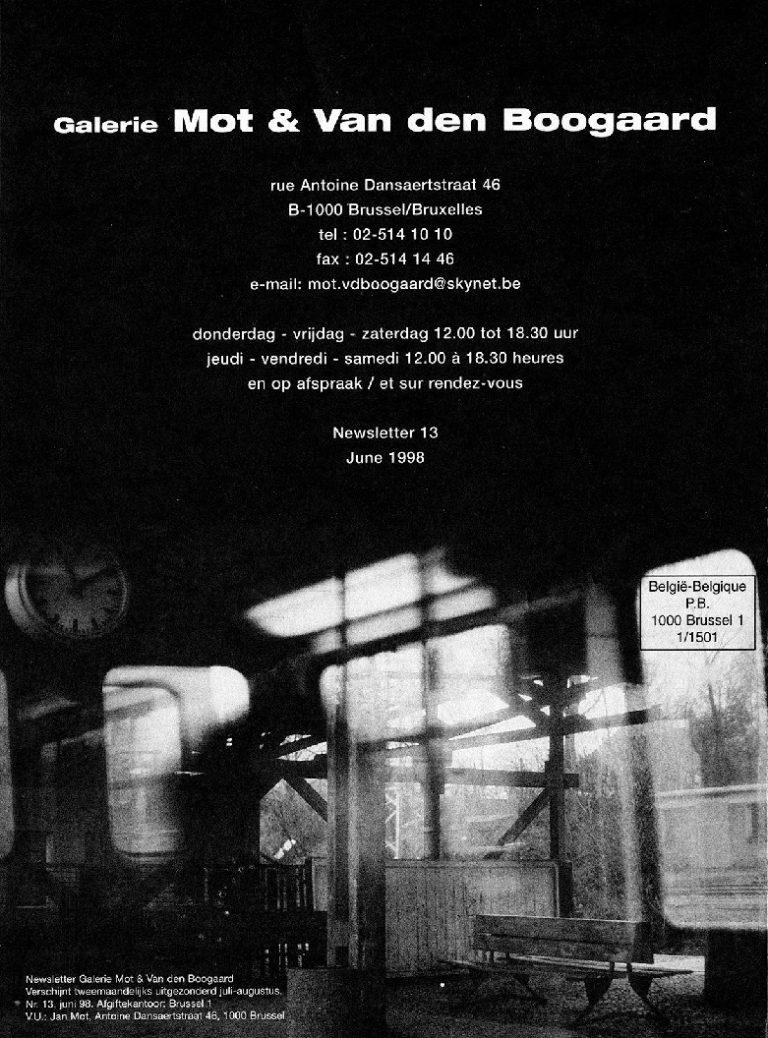 <p>No. 13, June 1998</p>
