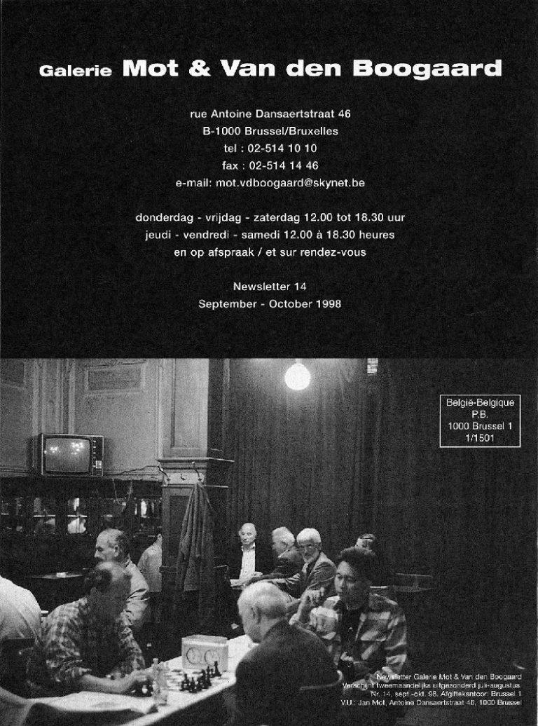 <p>No. 14, September 1998</p>