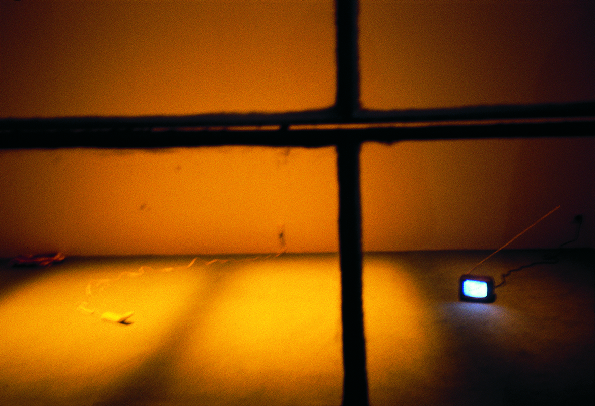 Dominique Gonzalez-Foerster, installation view at Jan Mot, 1996