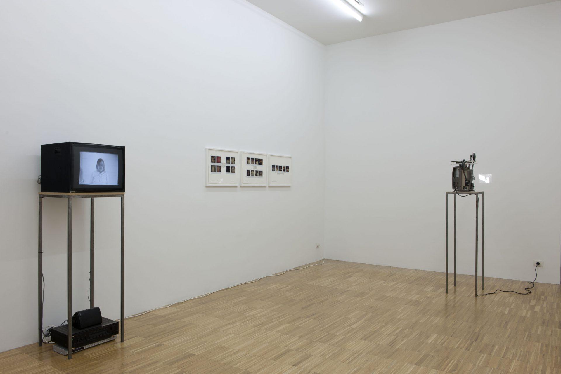 Installation view at Jan Mot, 2012