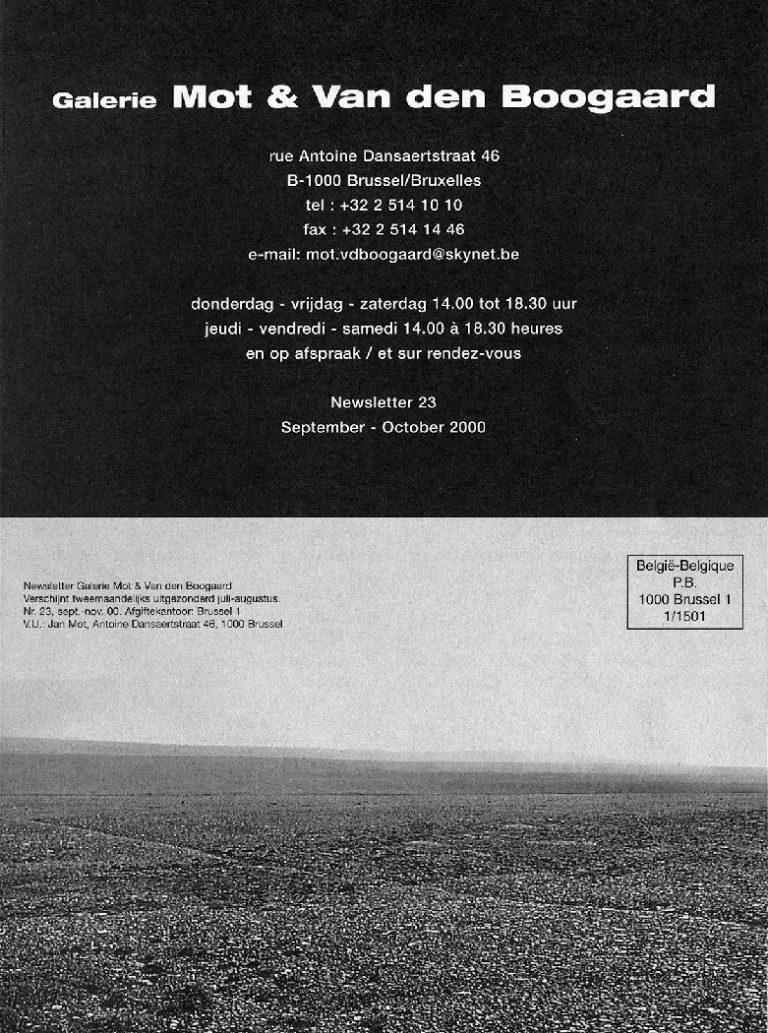 <p>No. 23, September 2000</p>