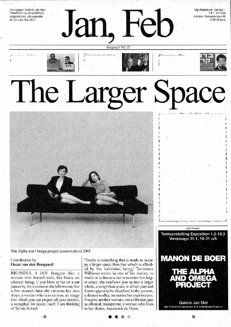 <p>No. 25, January 2001</p>