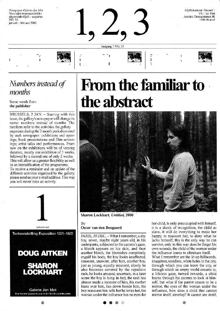 <p>No. 30, January 2002</p>