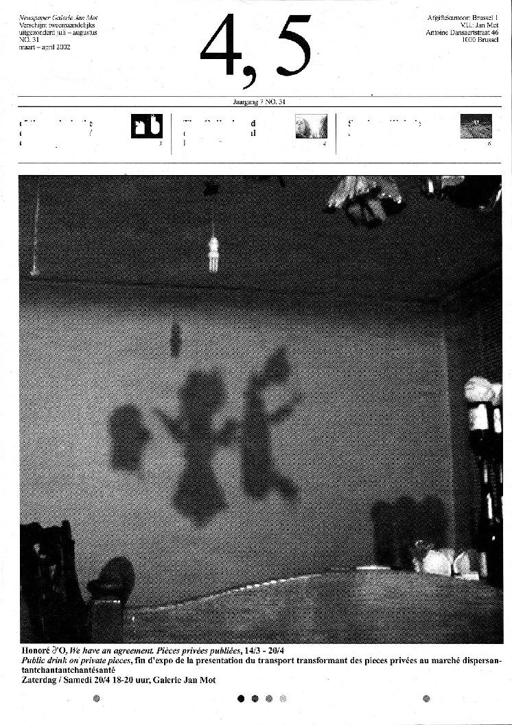 <p>No. 31, maart 2002</p>