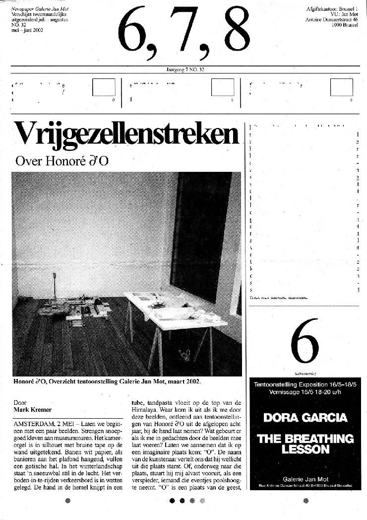 <p>No. 32, May 2002</p>