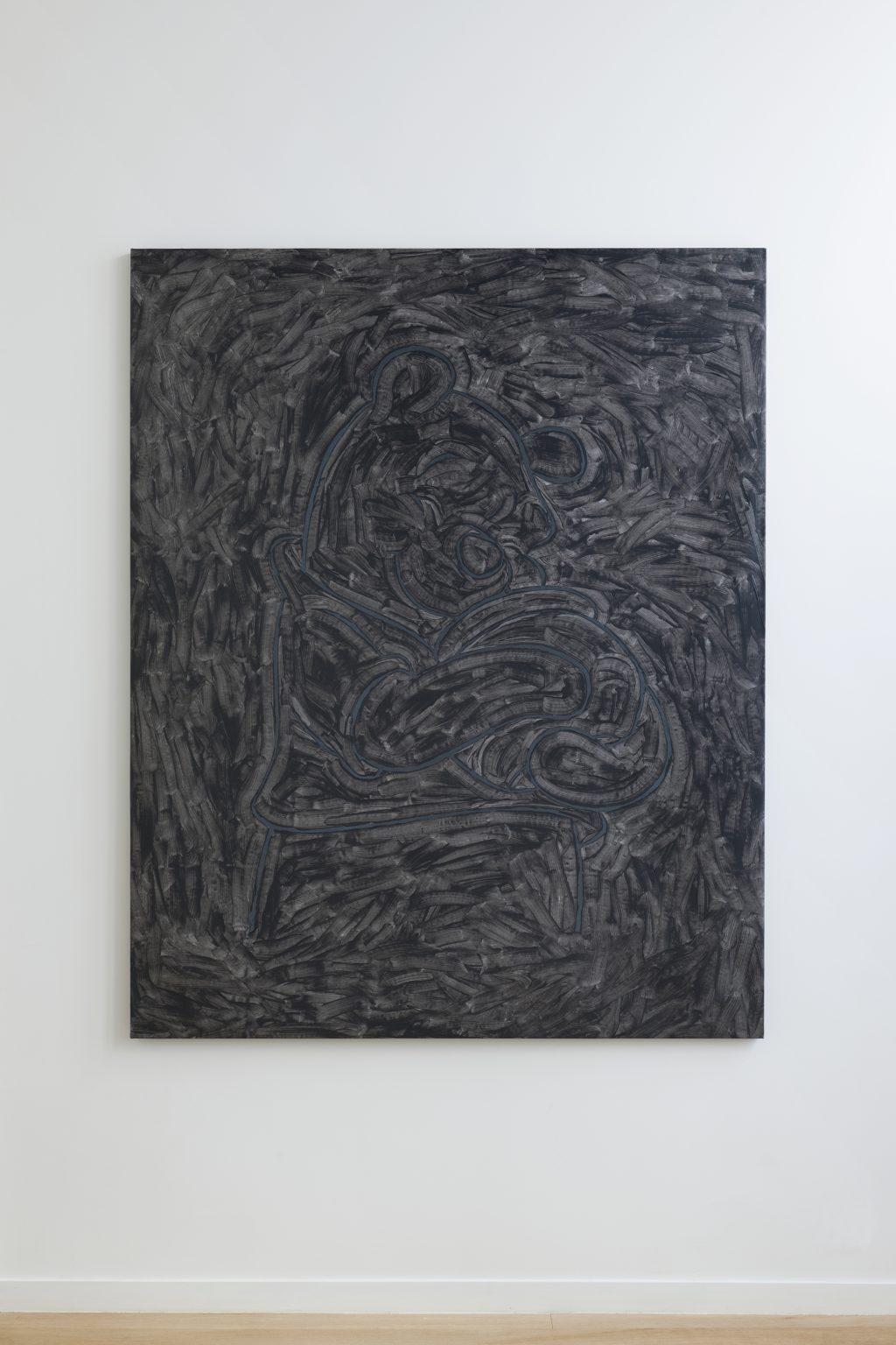 Pierre Bismuth - Black Painting