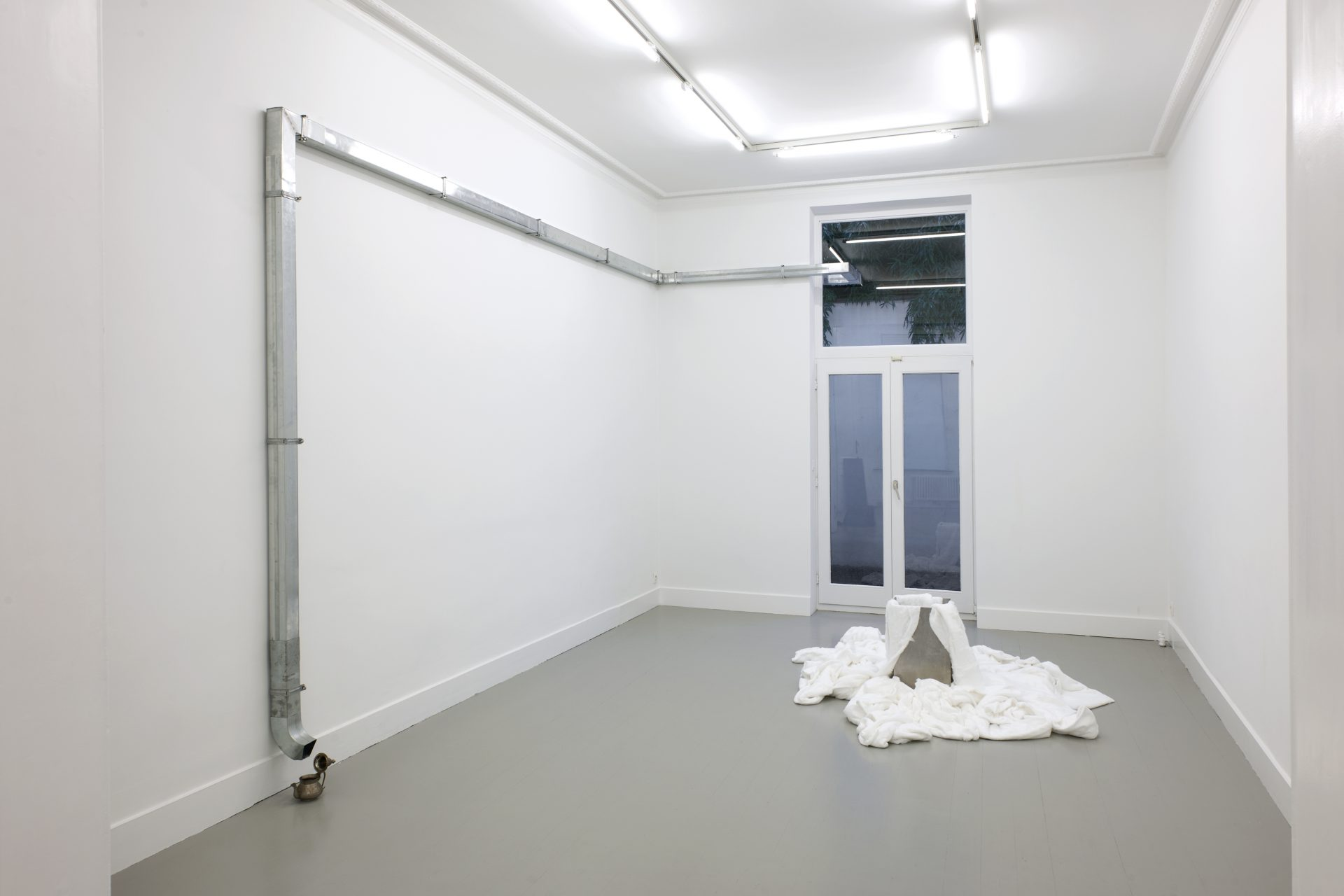 Installation view at Jan Mot, 2020