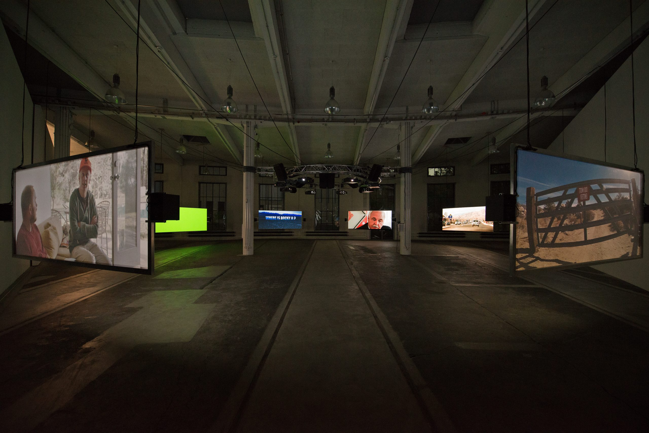Pierre Bismuth - installation view Kunstmuseum St Gallen