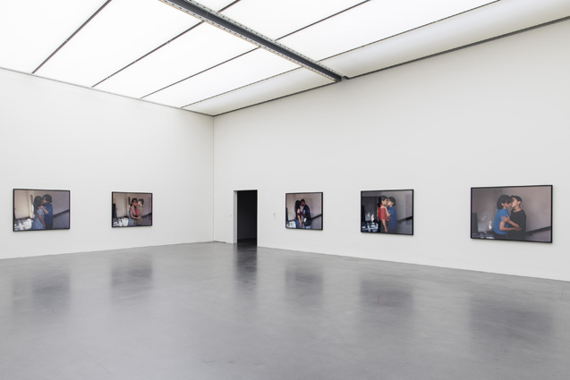 Sharon Lockhart, Milena Milena, 2015, installation view