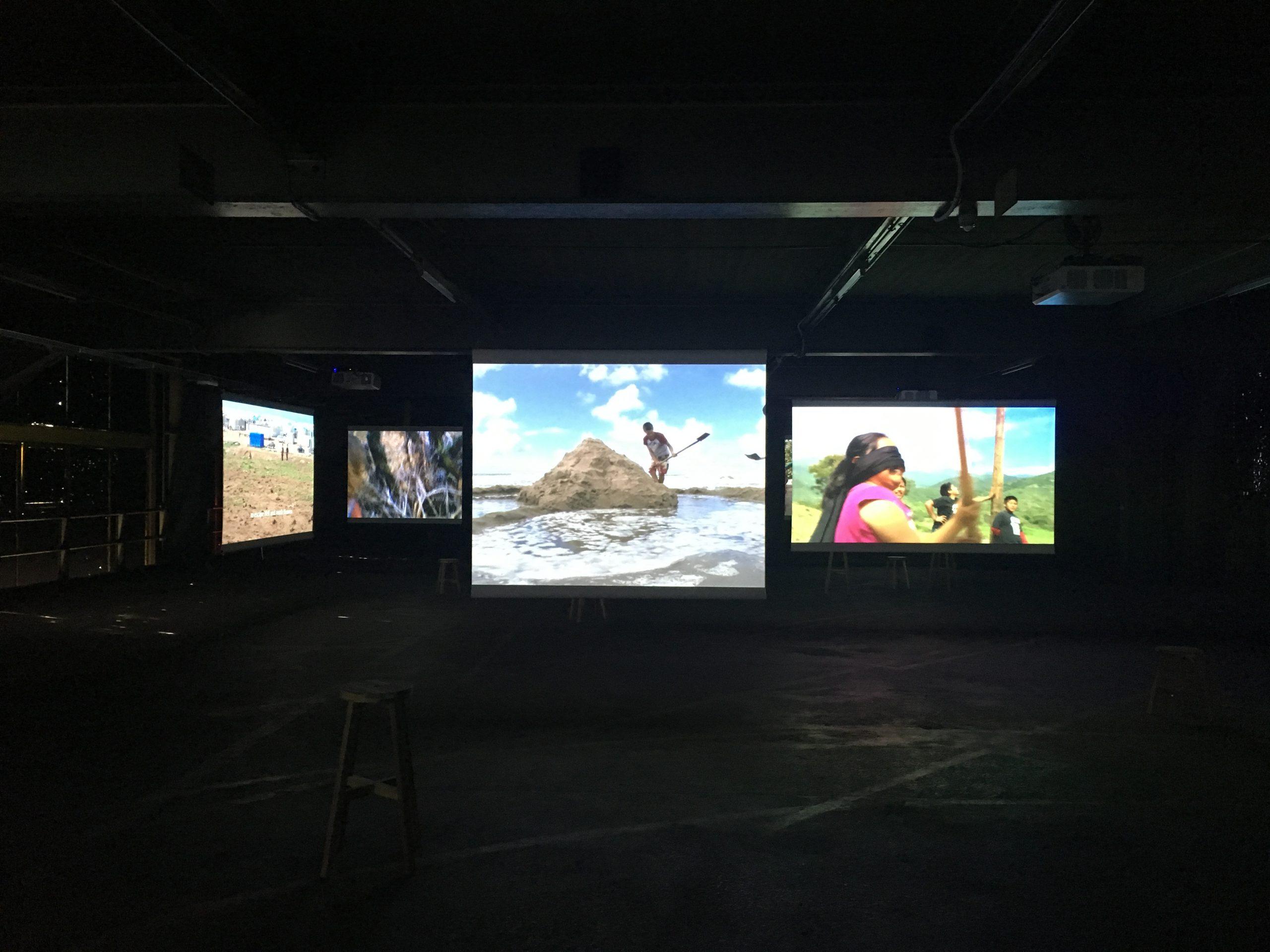 Francis Alys - installation view at Kanal, Pompidou, 2018