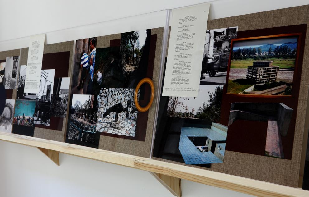 Tris Vonna-Michell, installation view at Jan Mot, Mexico, 2013