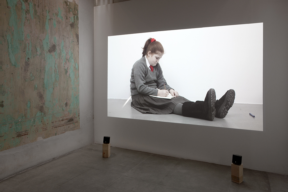 Rineke Dijkstra, installation view at Jan Mot, Mexico, 2013