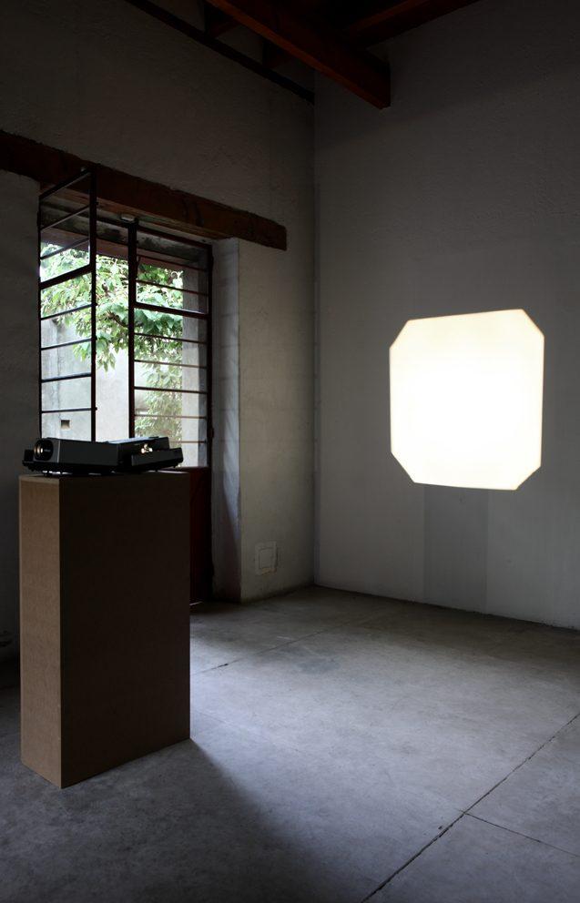 David Lamelas, installation view at Jan Mot, Mexico, 2012