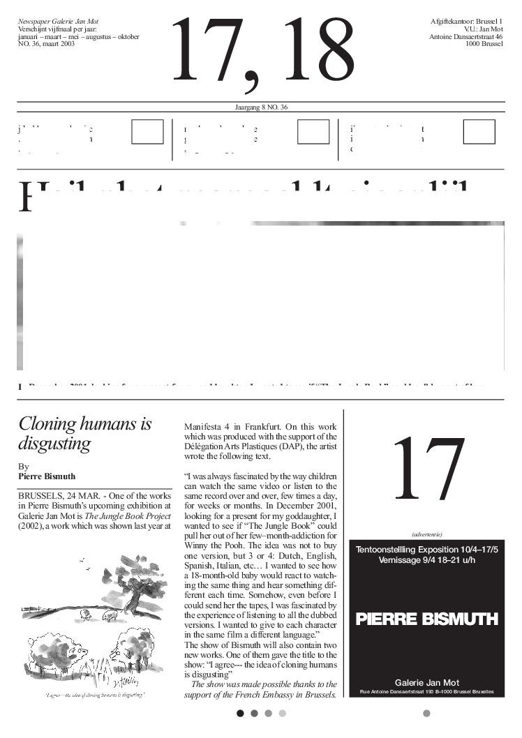 <p>No. 36, March 2003</p>