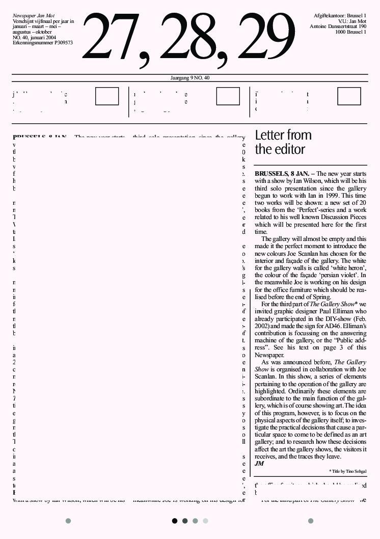 <p>No. 40, January 2004</p>