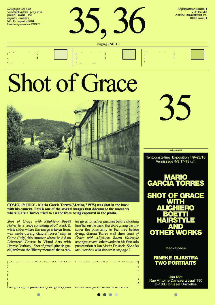 <p>No. 43, August 2004</p>