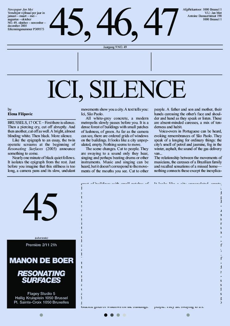 <p>No. 49, December 2005</p>