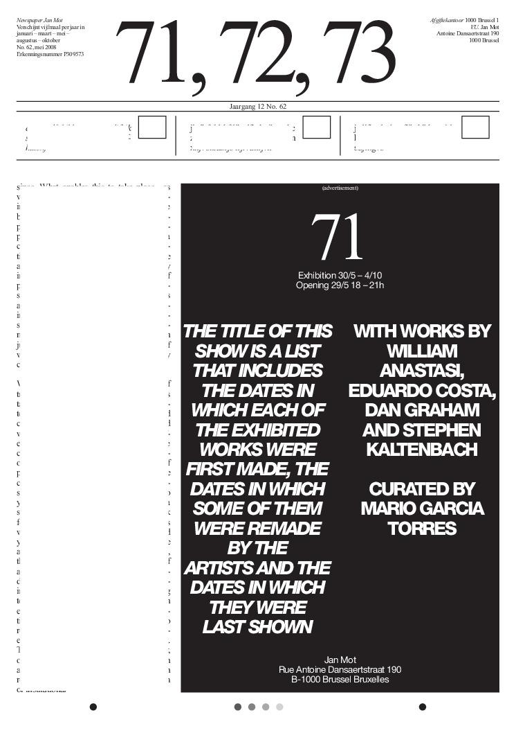<p>No. 62, May 2008</p>