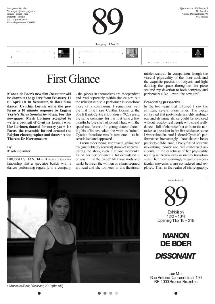<p>No. 70, January 2010</p>