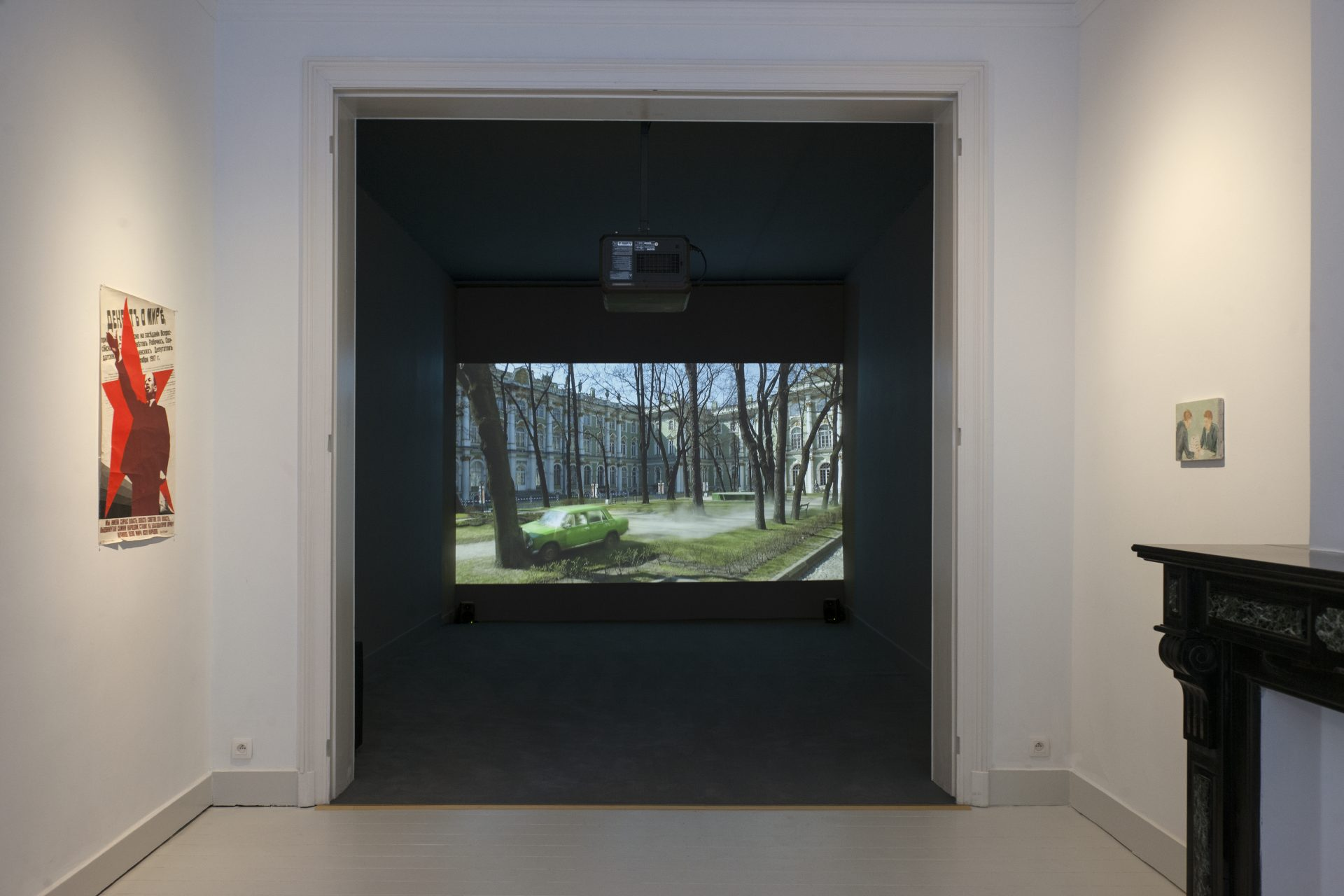 Francis Alys, installation view at Jan Mot, 2017