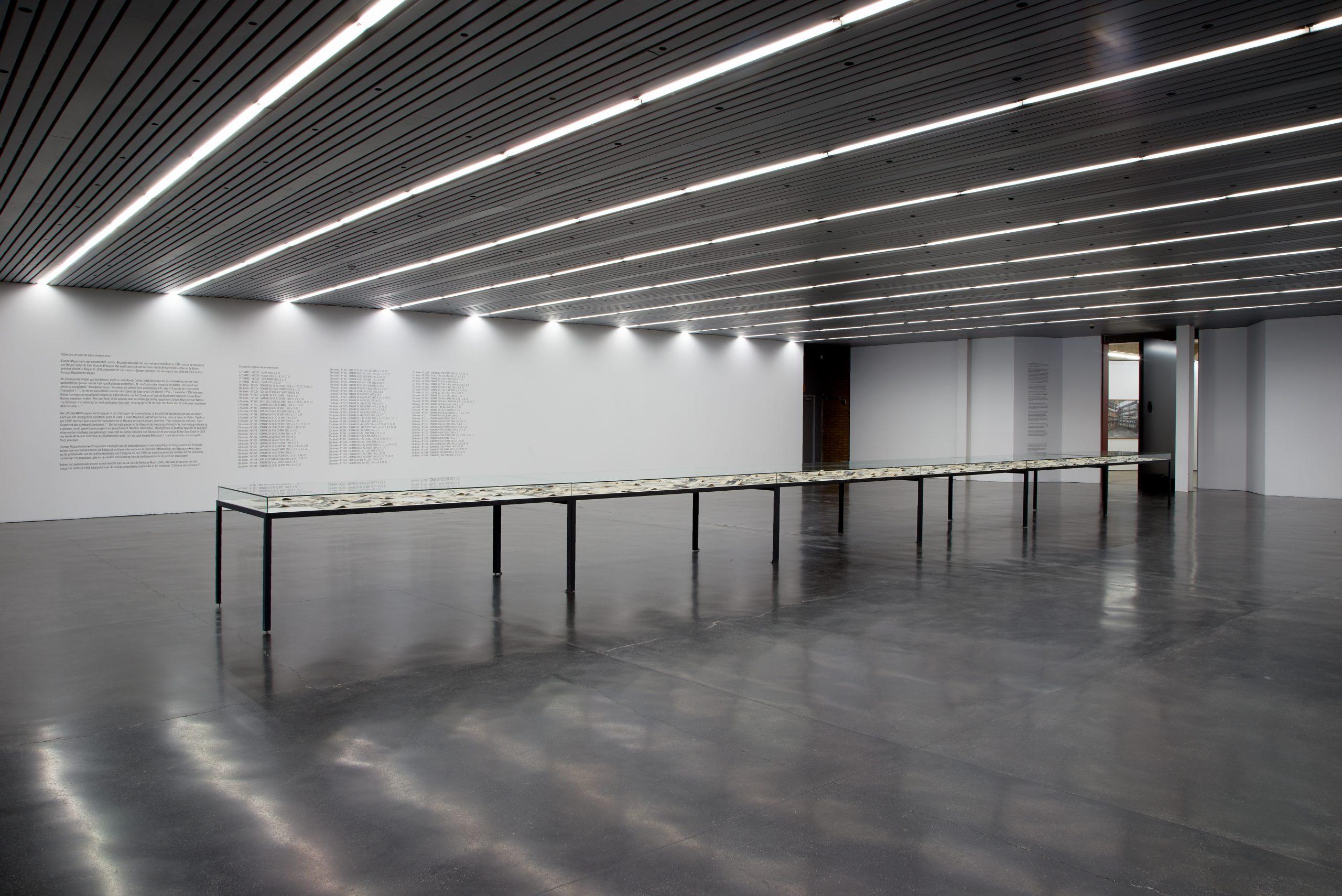 Sven Augustijnen, installation view at CC Strombeek, 2018