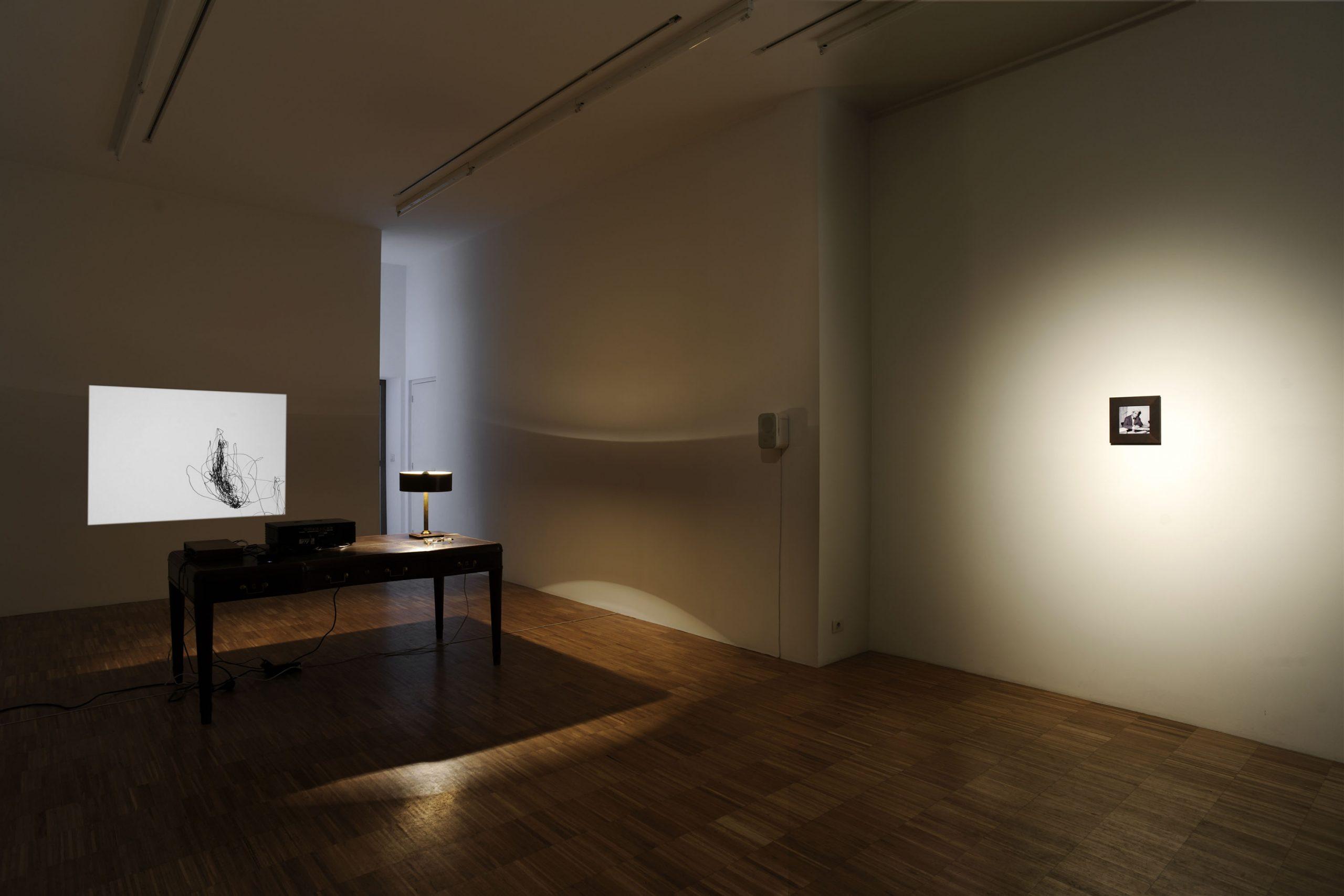 Pierre Bismuth - installation view at Jan Mot, 2010