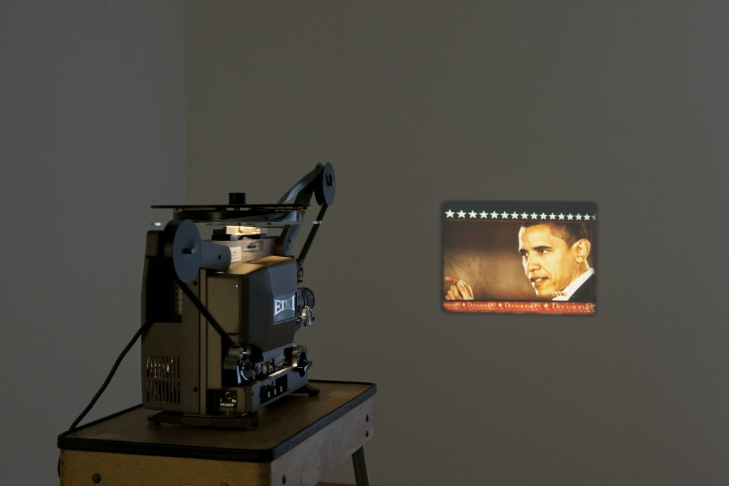 Pierre Bismuth - installation view at Jan Mot 2012