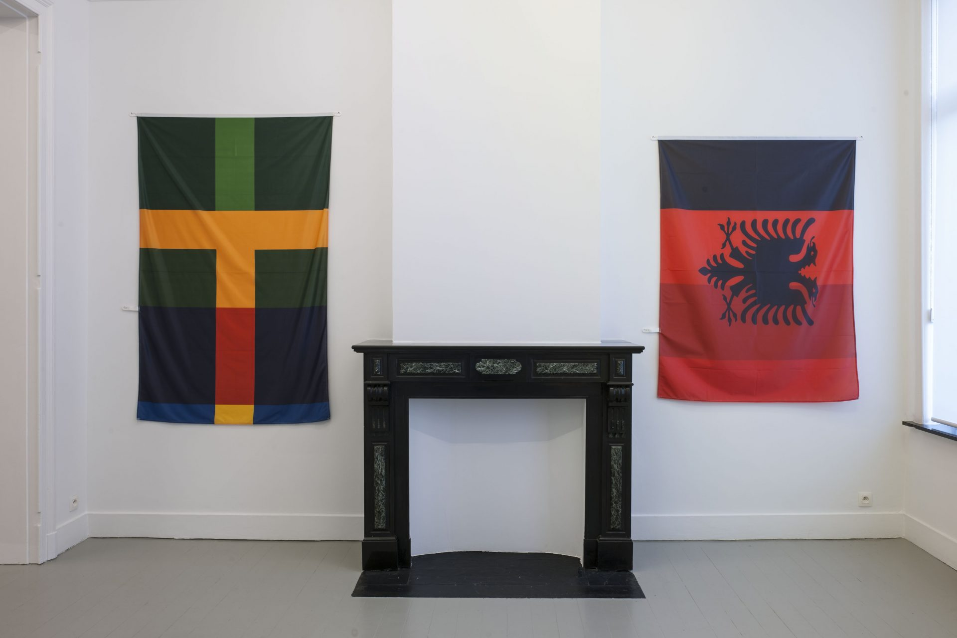 Pierre Bismuth - installation view at Jan Mot, 2019
