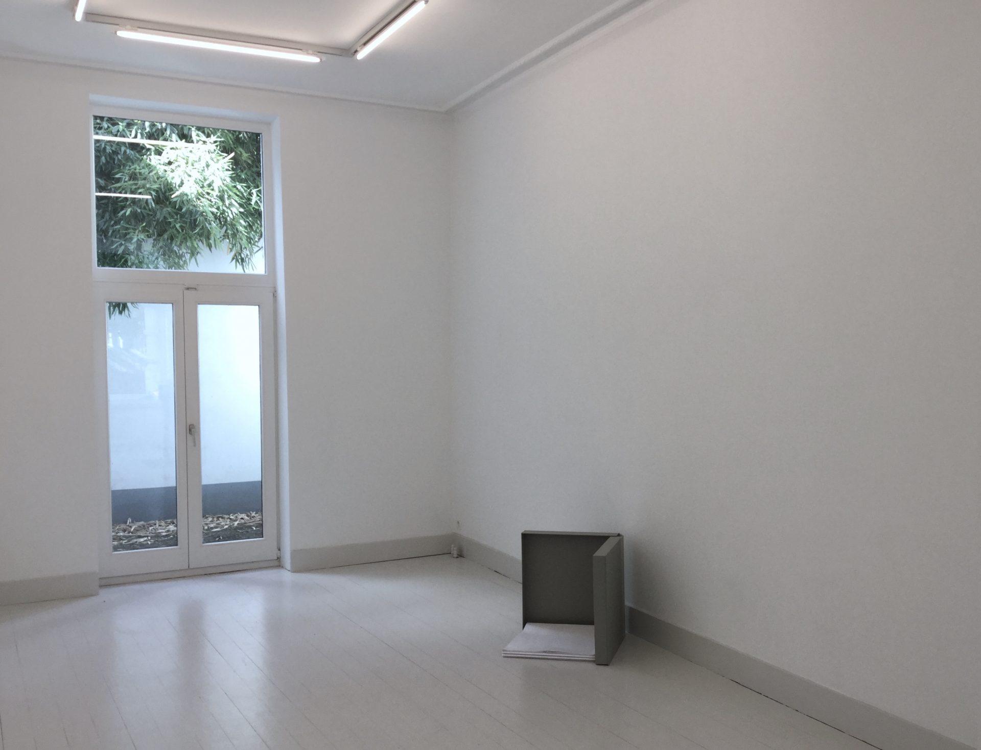 David Lamelas Pared Doblada at Jan Mot 2018-IMG_0873