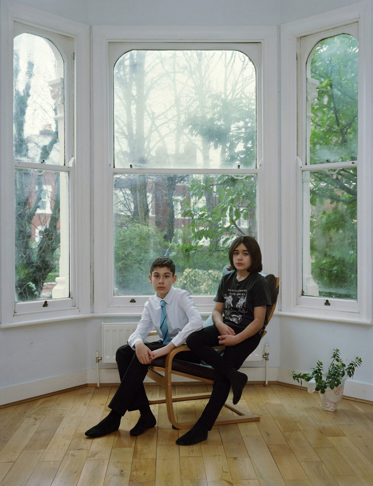 Rineke Dijkstra Arden and Miran London 16 feb 2020