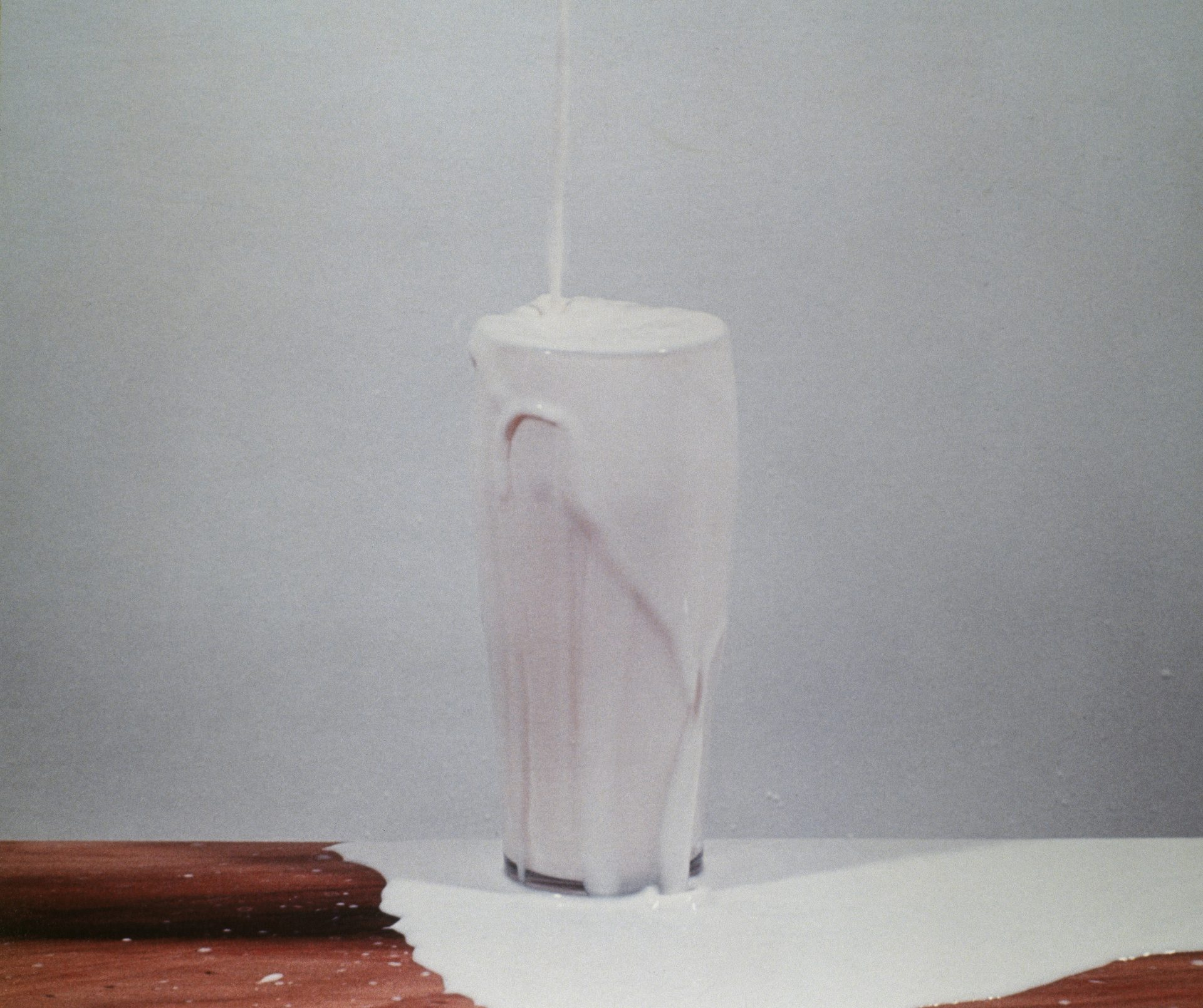 David Lamelas - To Pour Milk Into a Glass, 1972