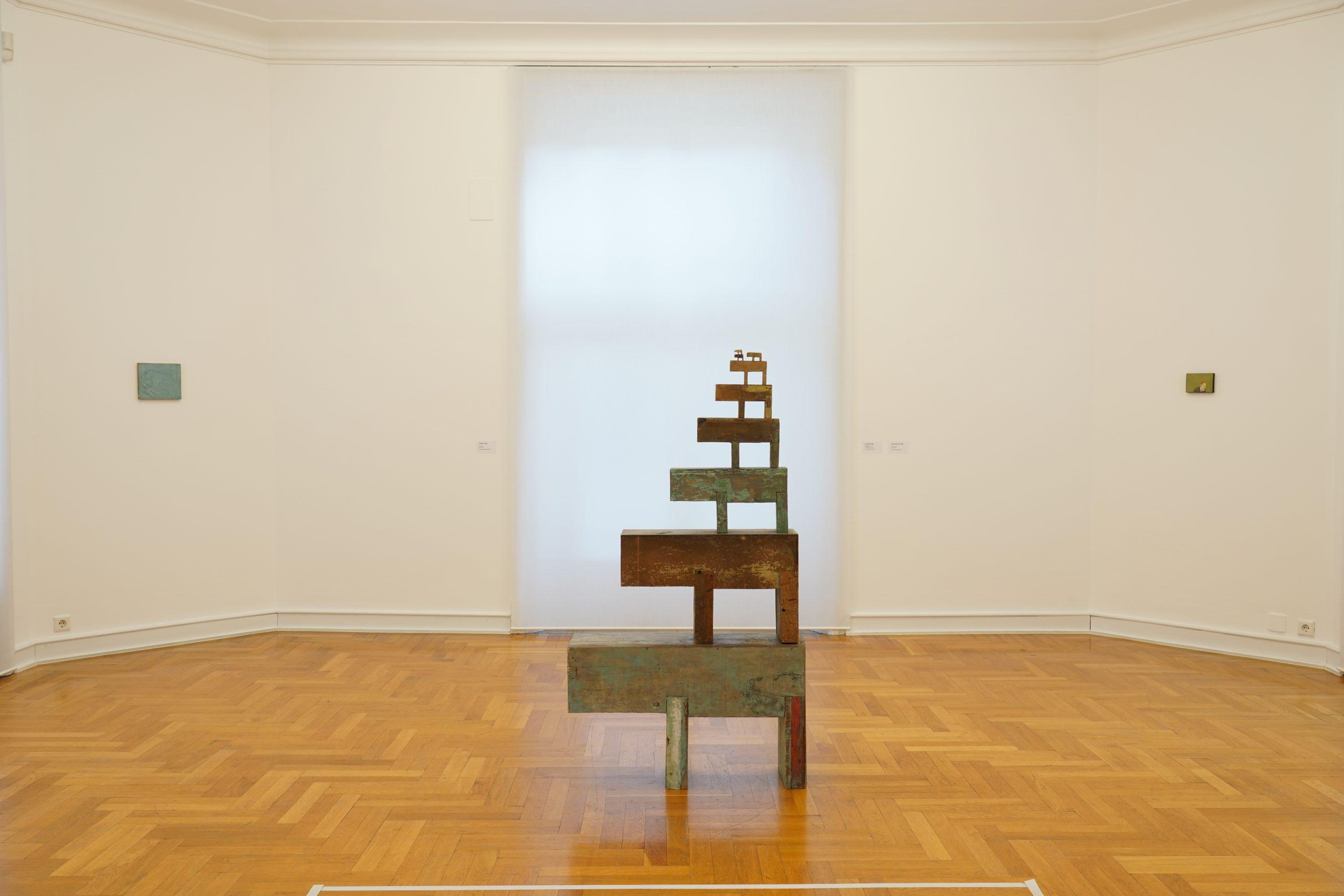 Francis Alys, installation view Leverkusen, 2019