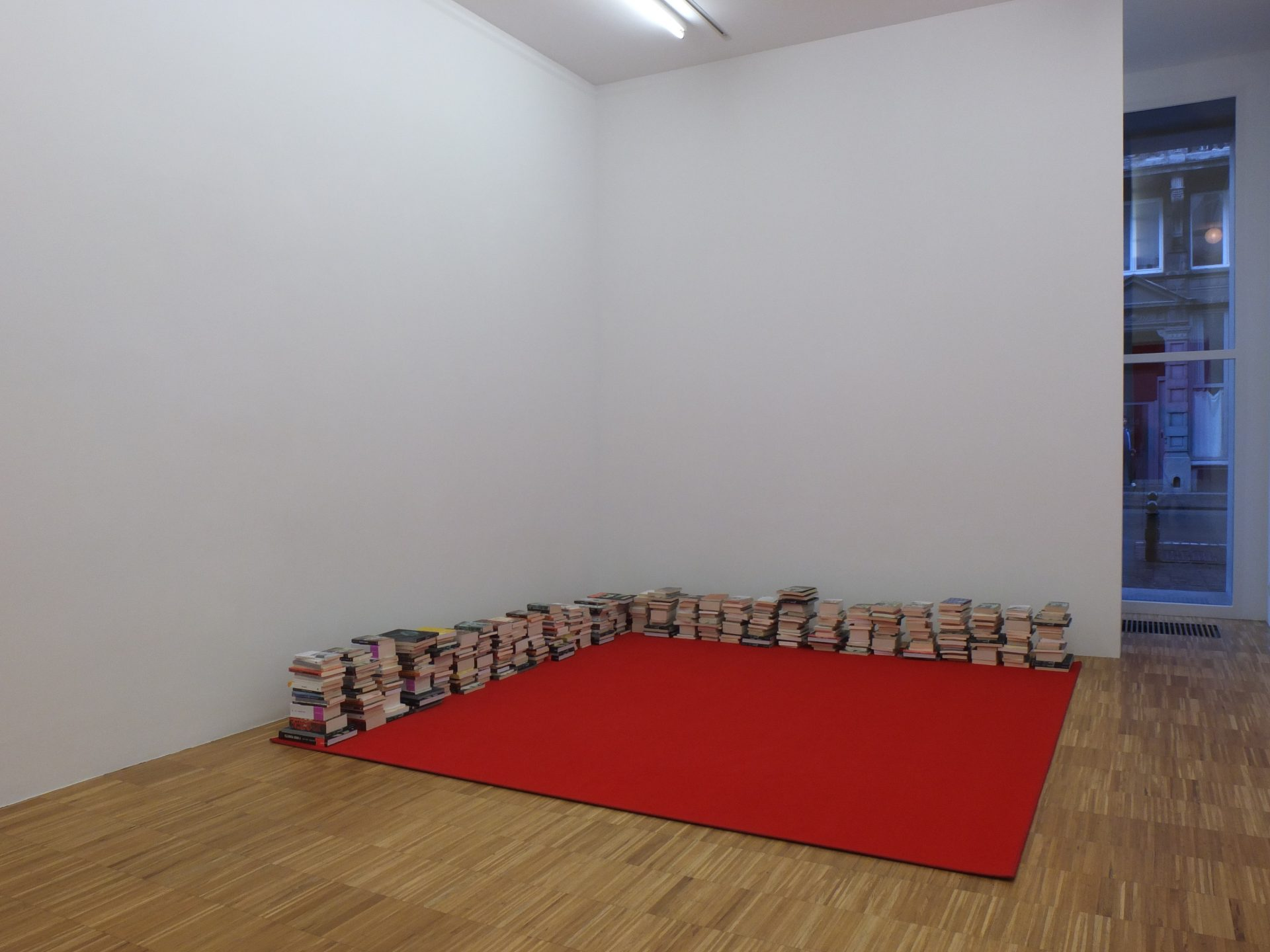 Dominique Gonzalez-Foerster, installation view at Jan Mot, 2014