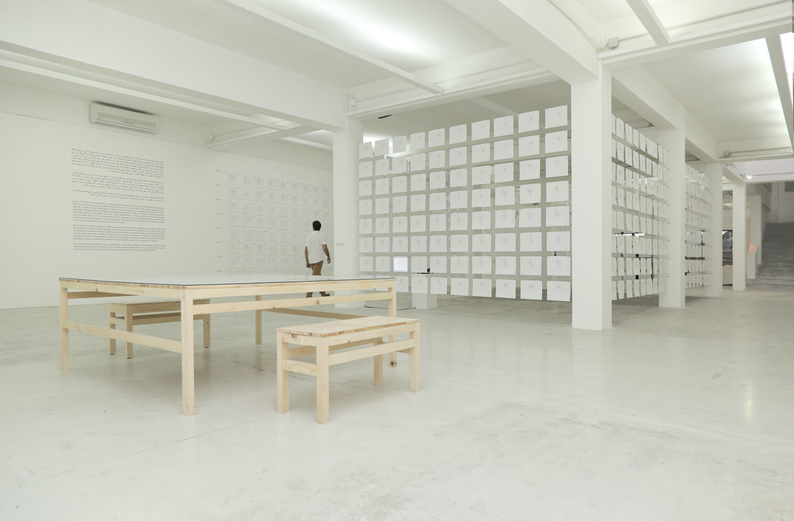 Installation view Francis Alys at Beirut Art Center, 2018
