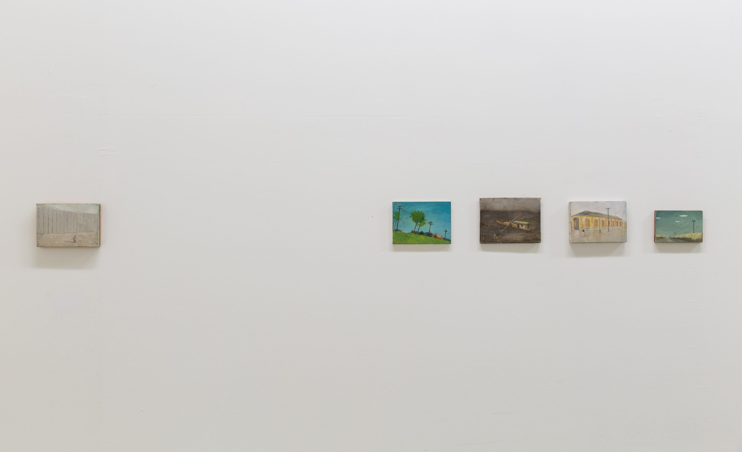 installation view Francis Alÿs at Tapei Biennale, 2016