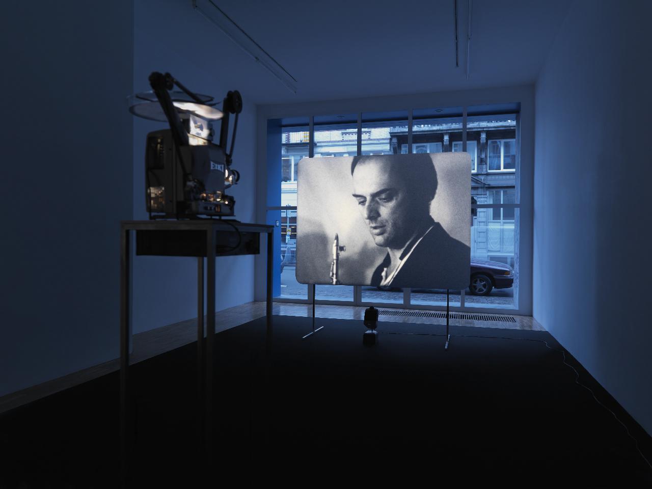 Manon de Boer, installation view at Jan Mot, 2008