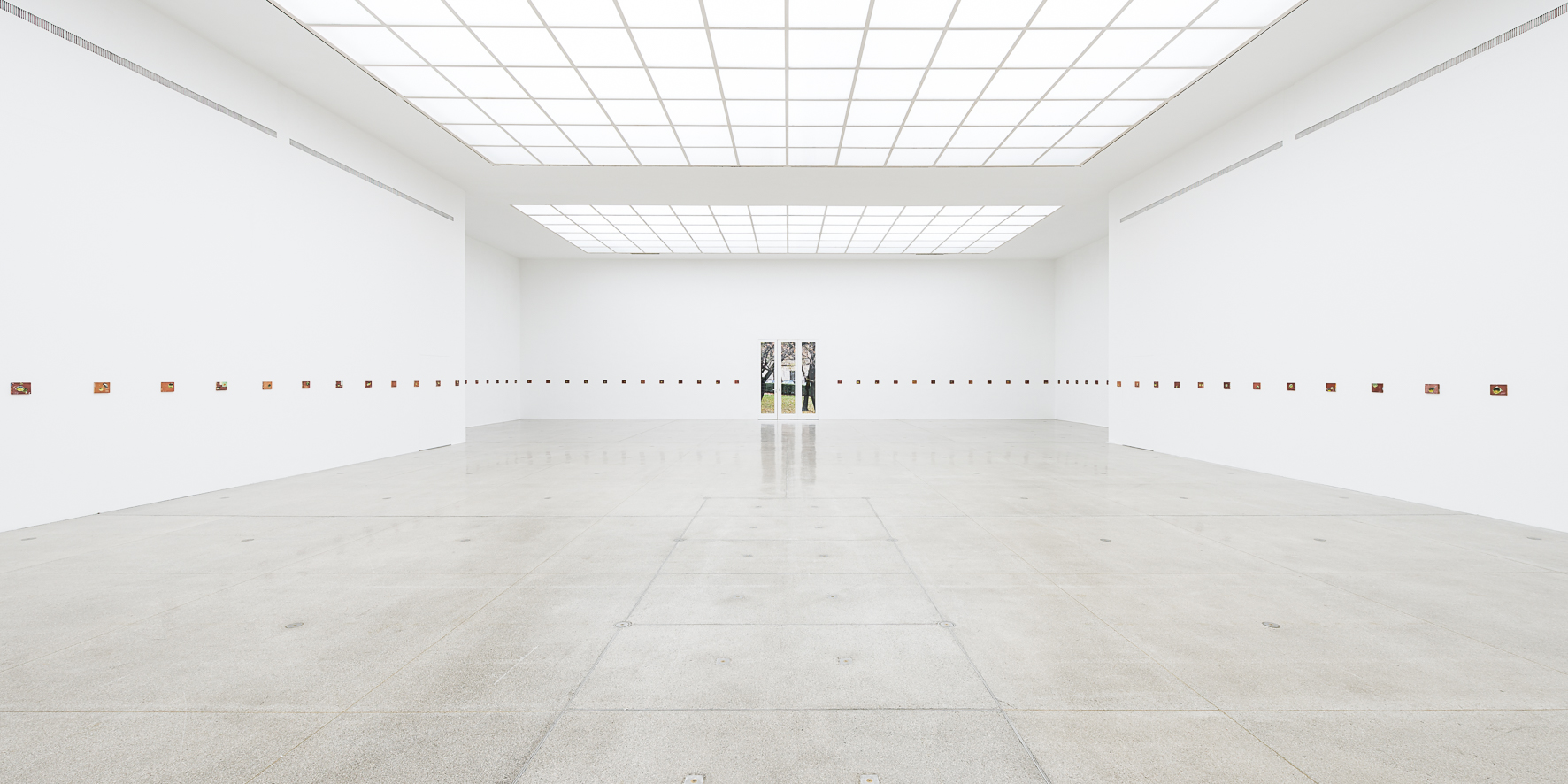 Installation view Francis Alÿs at Secession, Vienna, 2016