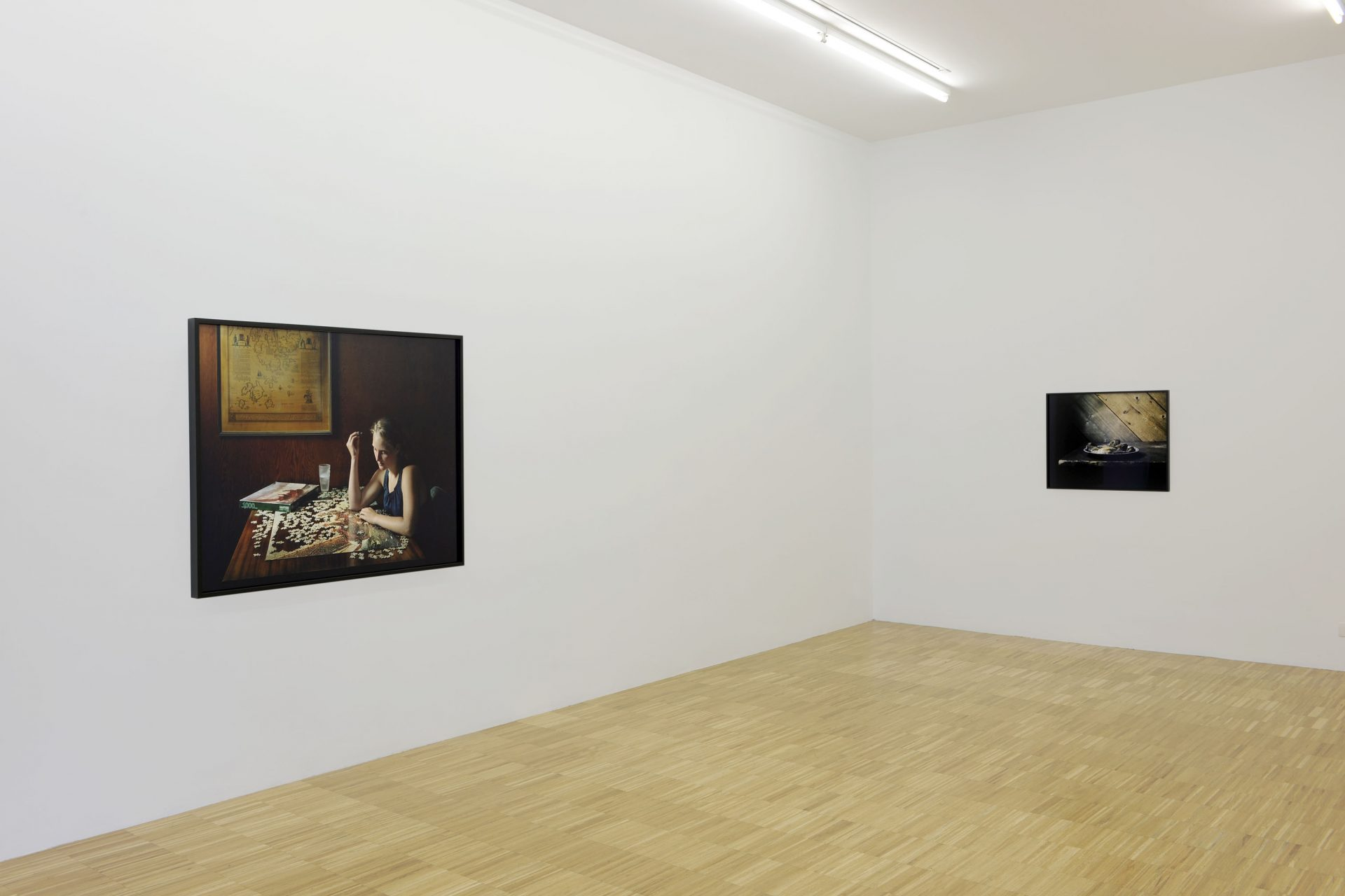 Sharon Lockhart - installation view at Jan Mot, 2010