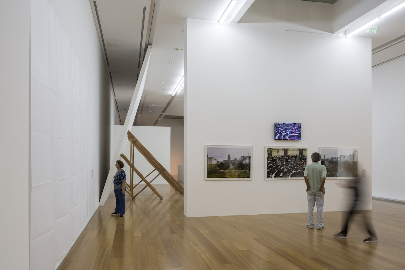 David Lamelas installation view at Malba 2018