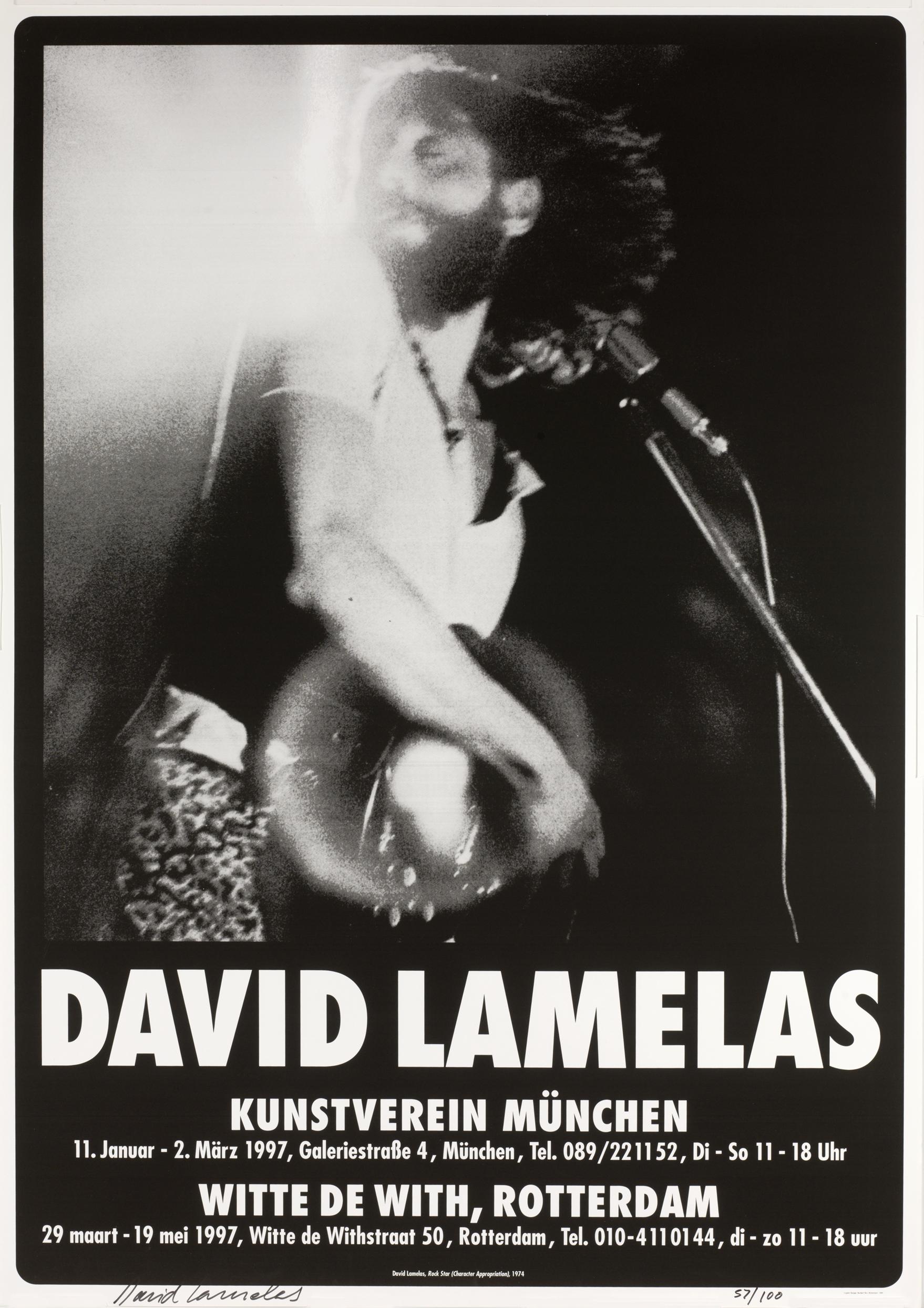 David Lamelas Rockstar Poster