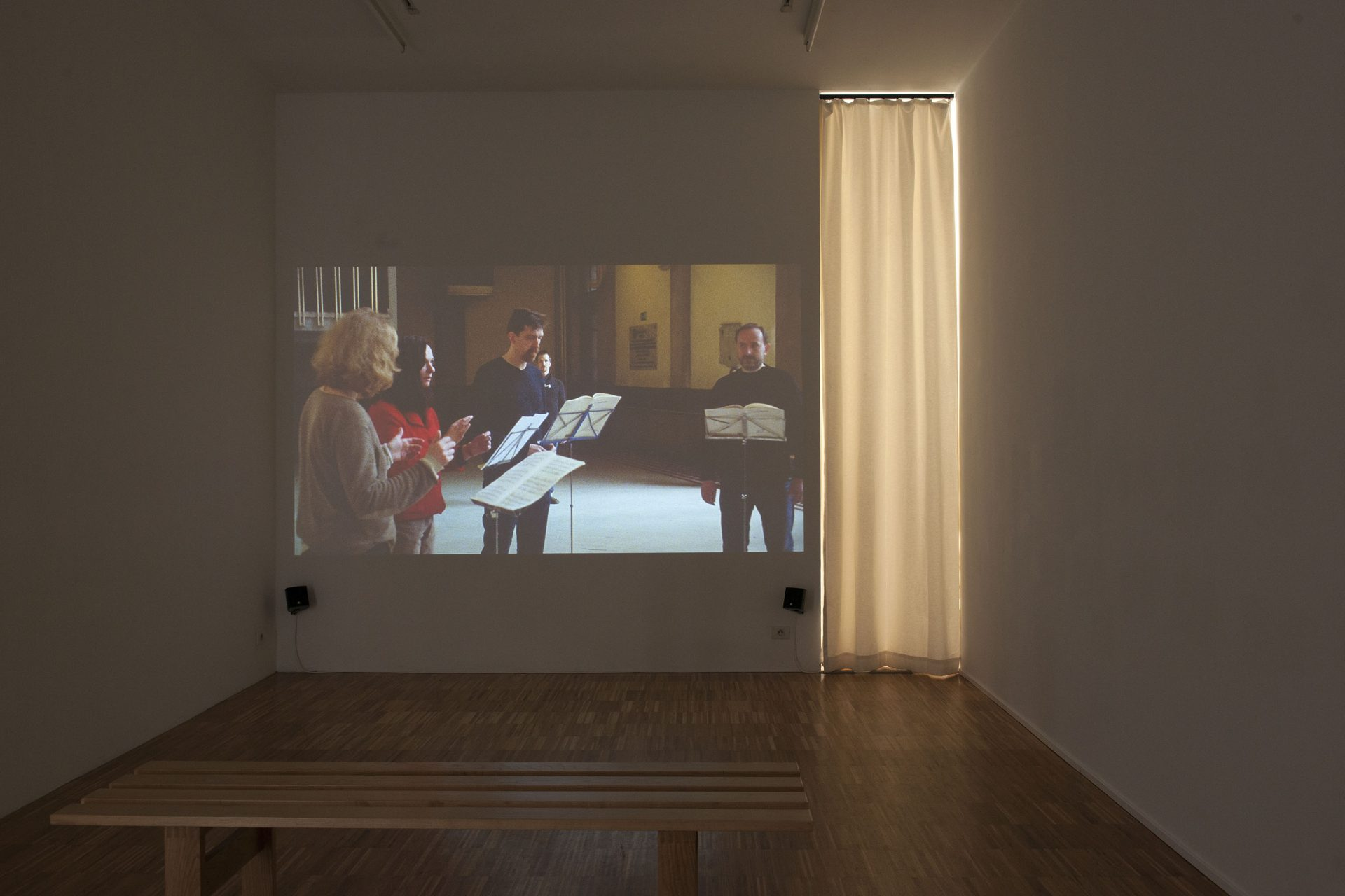 Manon de Boer, installation view at Jan Mot, 2013