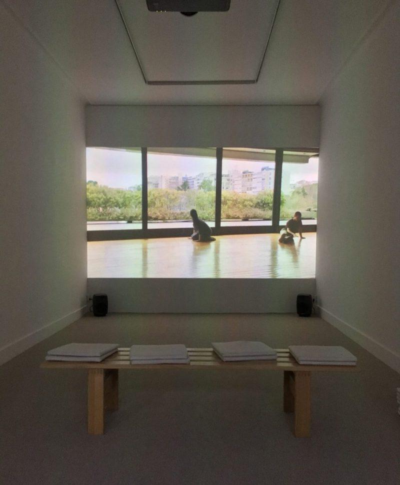 Manon de Boer - installation view at Jan Mot, 2020