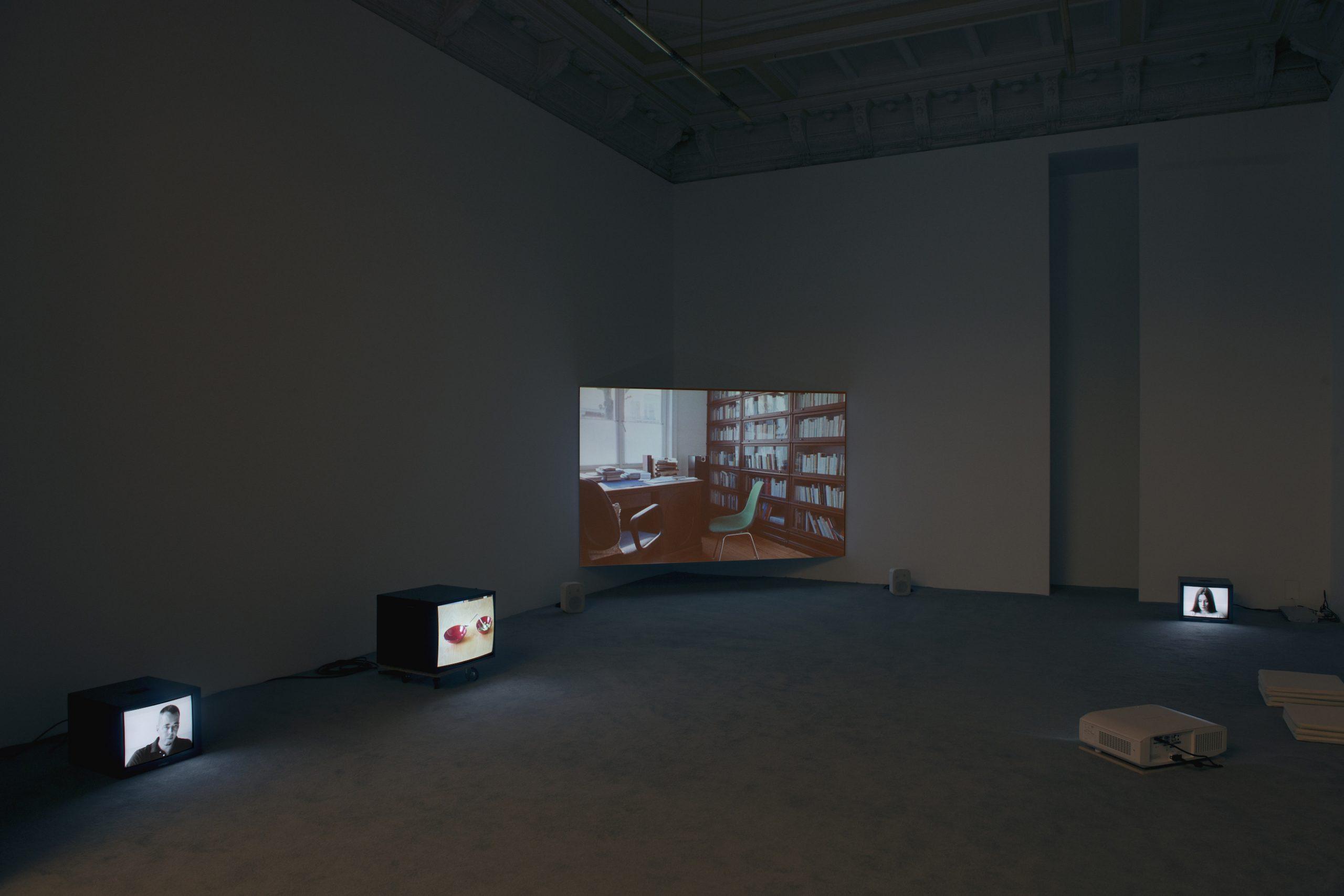 Manon de Boer, installation view at Jan Mot, 2016