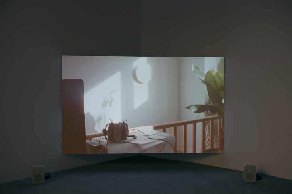 Manon de Boer, installation view at Jan Mot, 2016