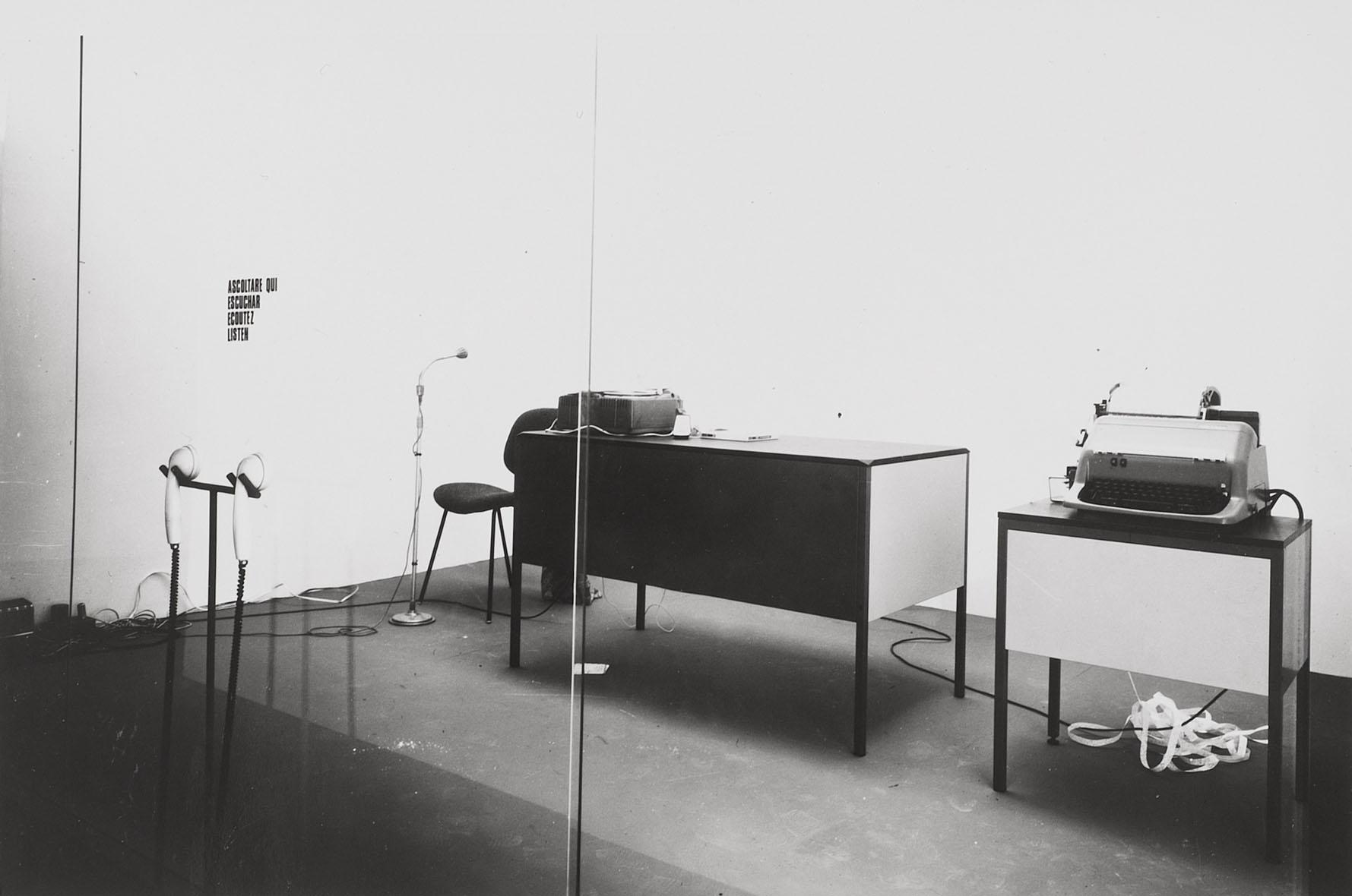 David Lamelas Venice Biennale 1968