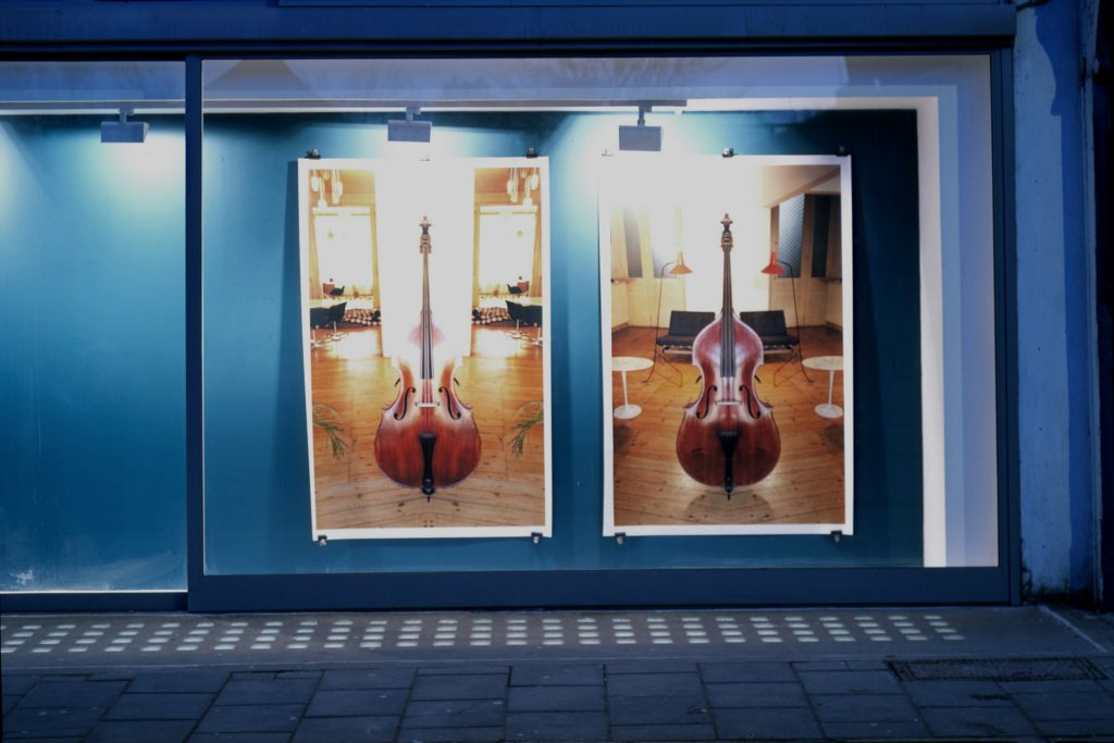 Pierre Bismuth double bass