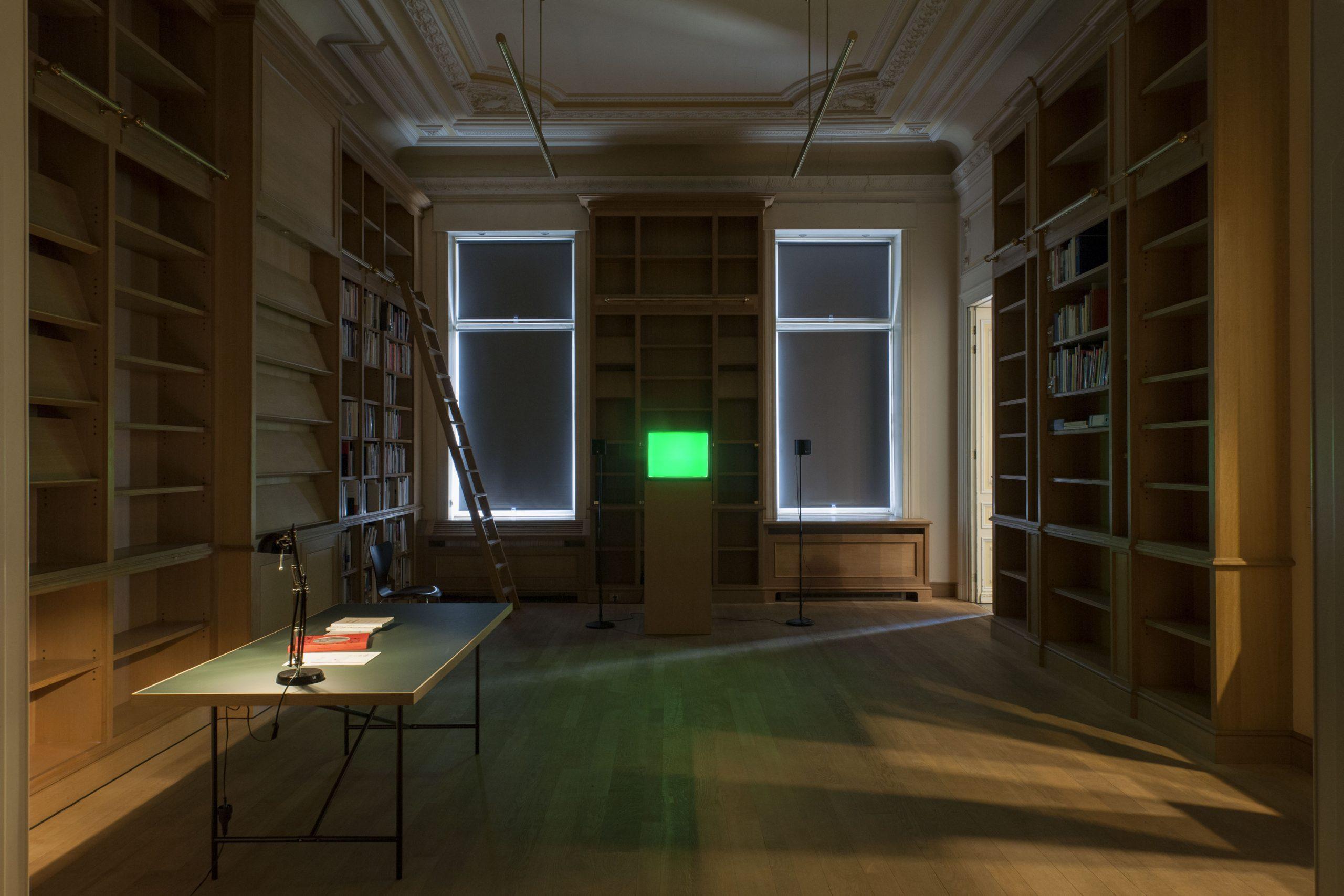 Pierre Bismuth, installation view at Jan Mot, 2015